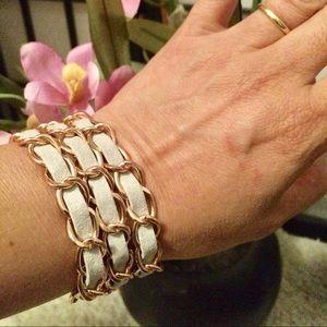 magnet closure bracelet green